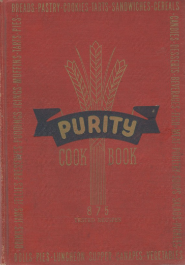 Purity Cookbook Green Cover ~ A stroll down cookbook memory lane the purity