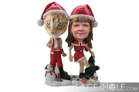 me and christmas ched
