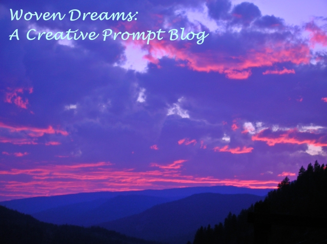 woven dreams with text