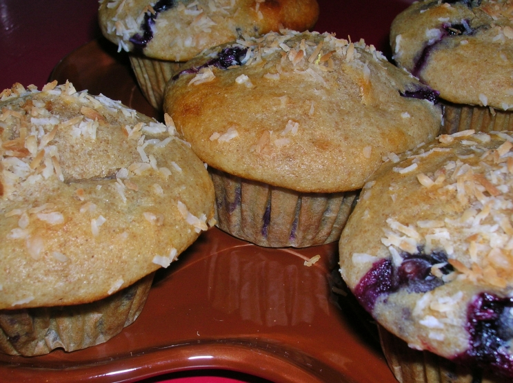 blueberry muffins for post