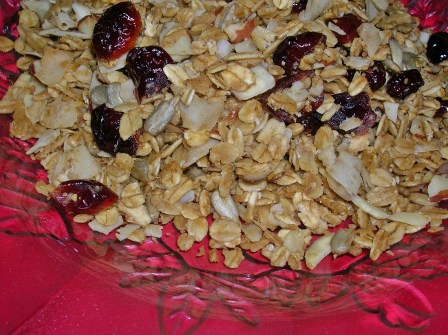 granola for post