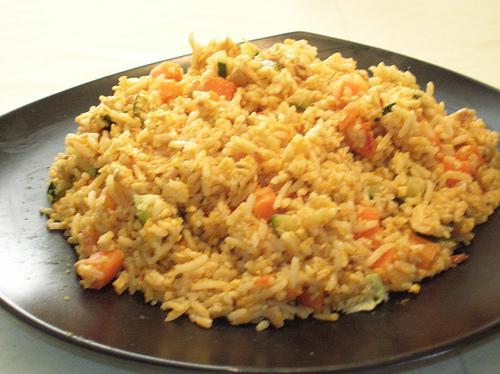 coconut rice salad