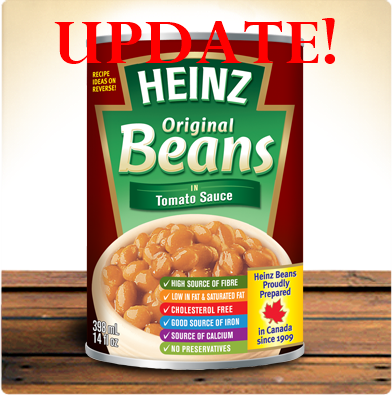heinz beans update