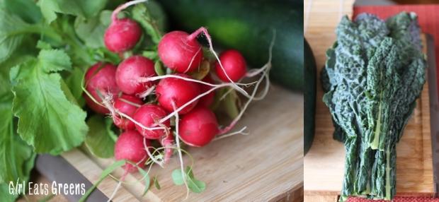 Raw Kale Radish Pesto with Zucchini Noodles Vegan Vegetarian Gluten Free Girl Eats Greens_0011