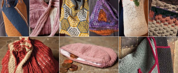 Another Free Knitting Book Bags And Purses Veggies Yarns Tails